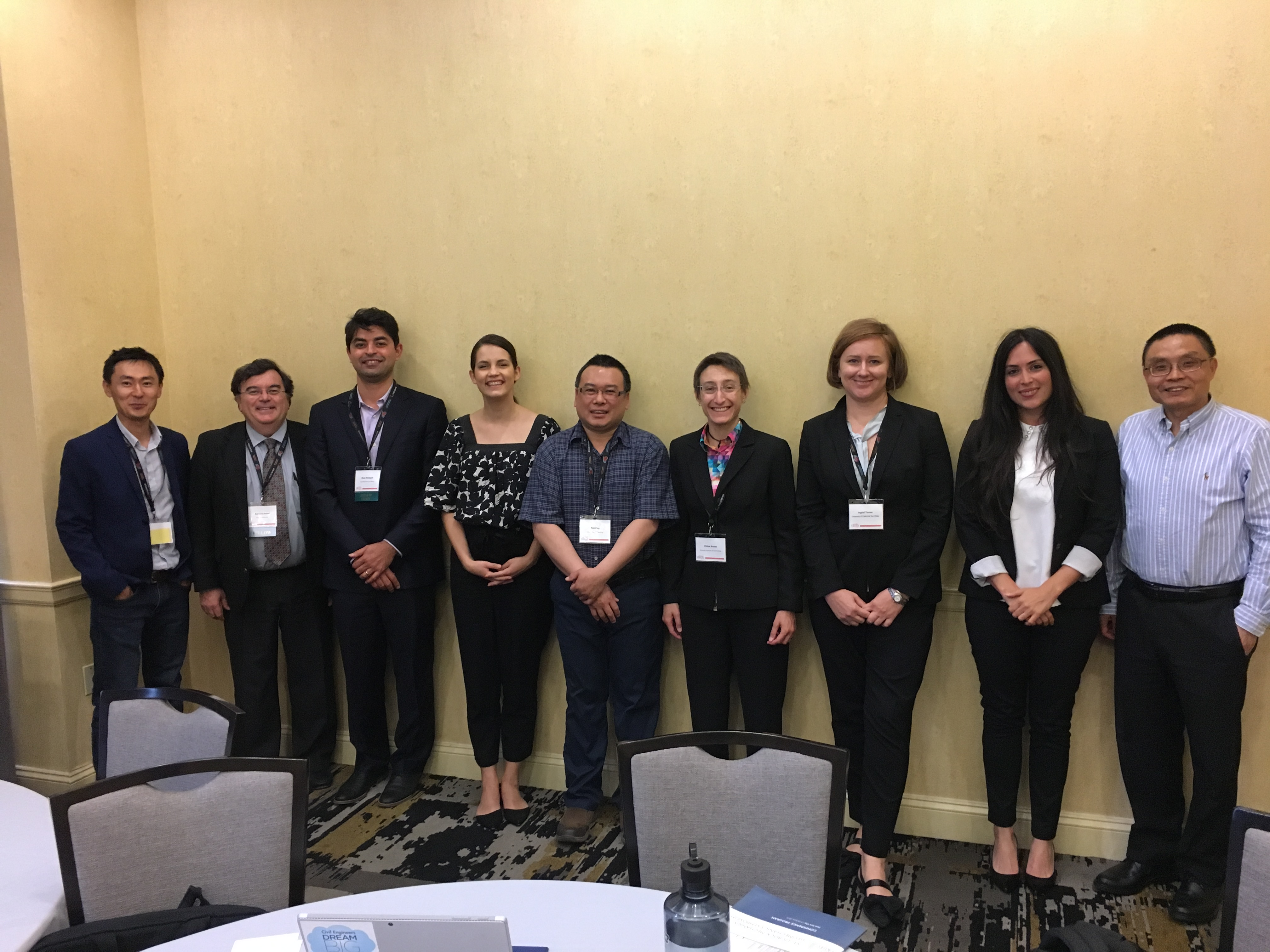 Rock Mechanics Technical Committee members at the 53rd US Rock Mechanics/Geomechanics Symposium held in New York, June 23-26, 2019